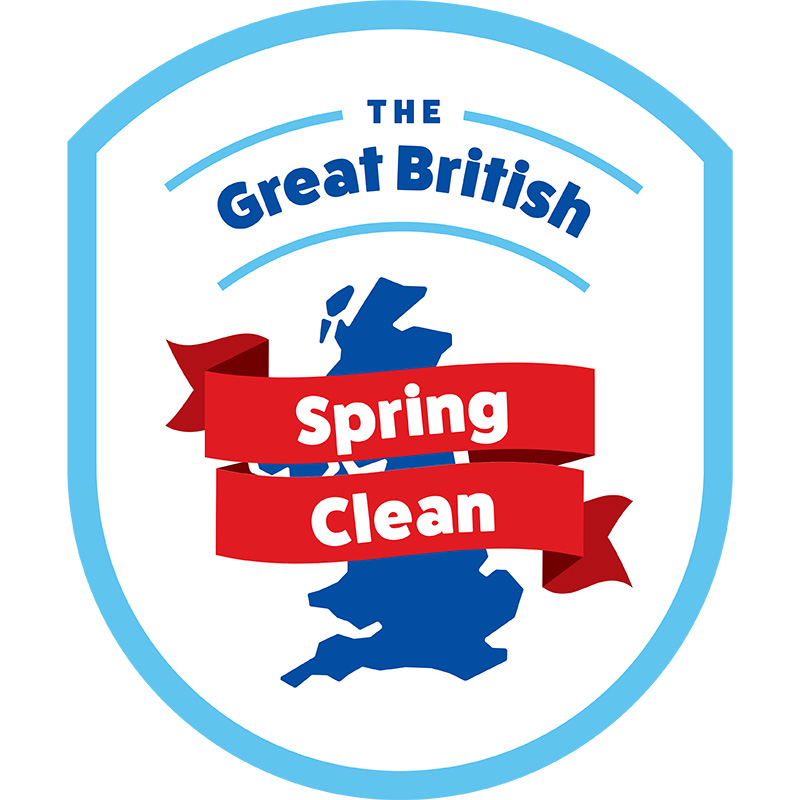 great british spring clean logo