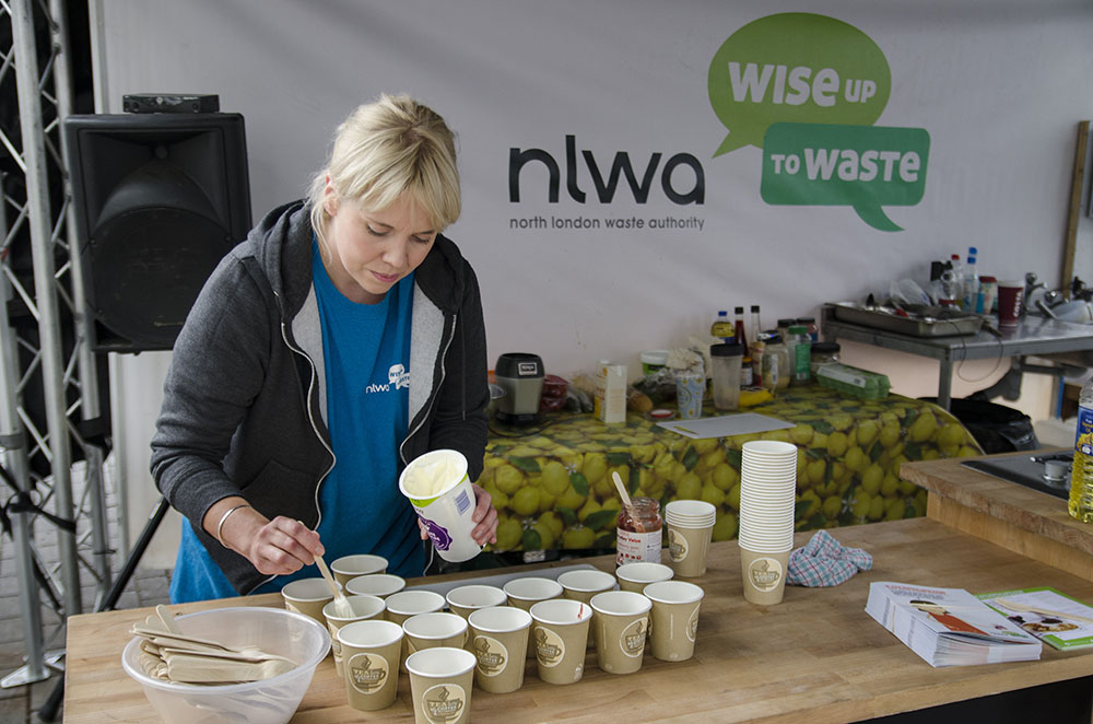 An image of a Waste Less, Lunch Free event