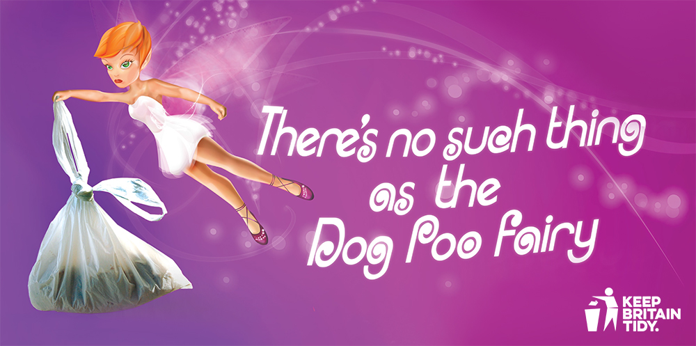 An image from the No Such Thing as the Dog Poo Fairy campaign