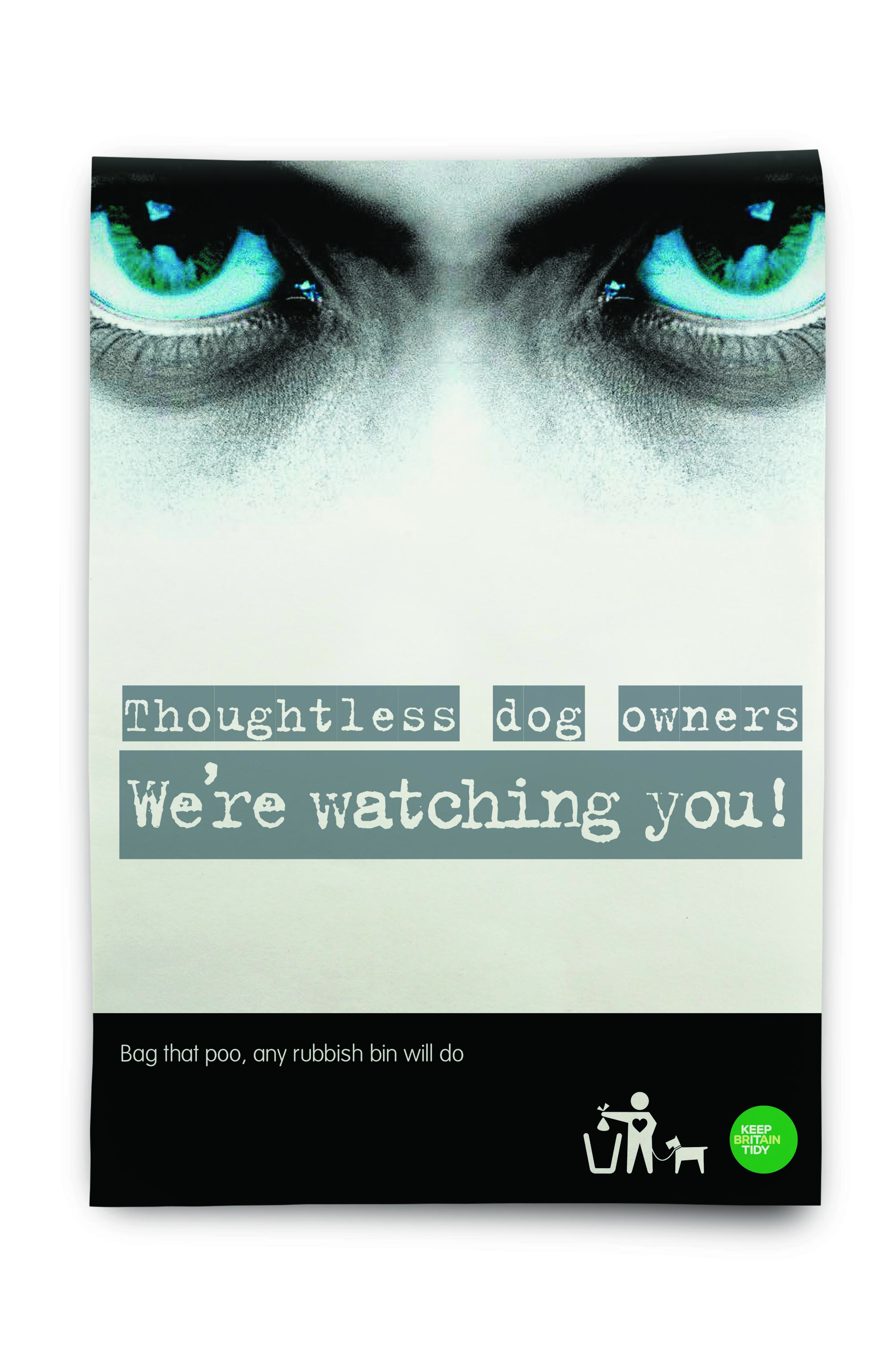An image of a We're Watching You campaign poster