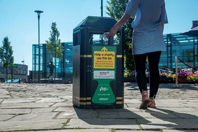 An image of the Bin It For Good campaign