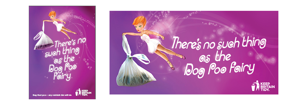An image of the dog poo fairy campaign