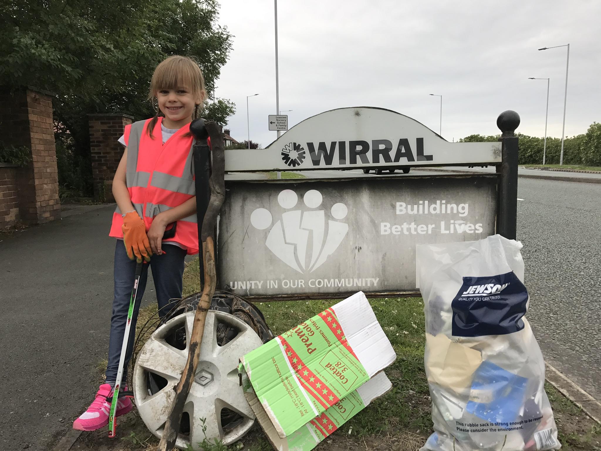 Elizabeth - Little Collector and Litter Hero