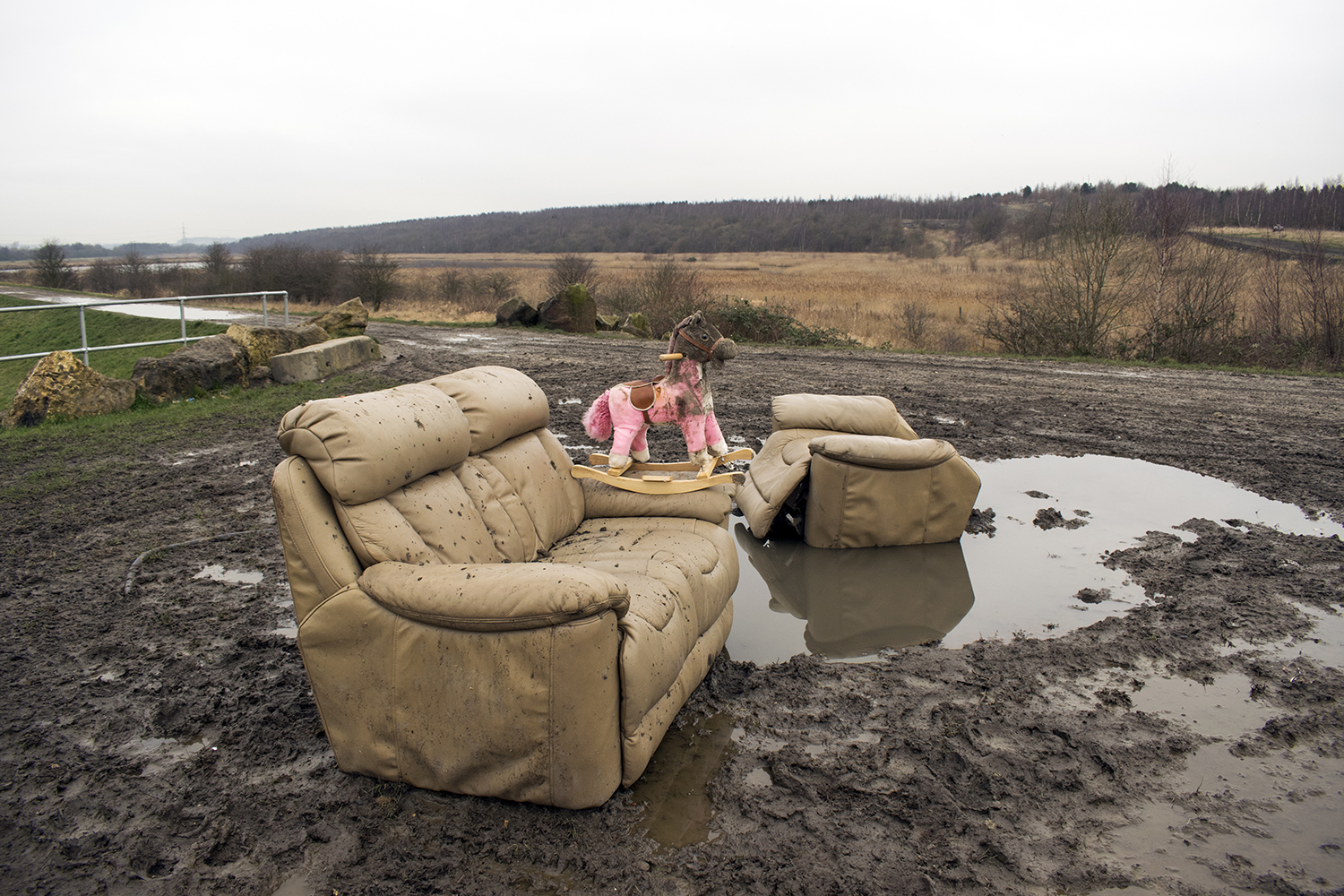 An image of a fly-tipping incident