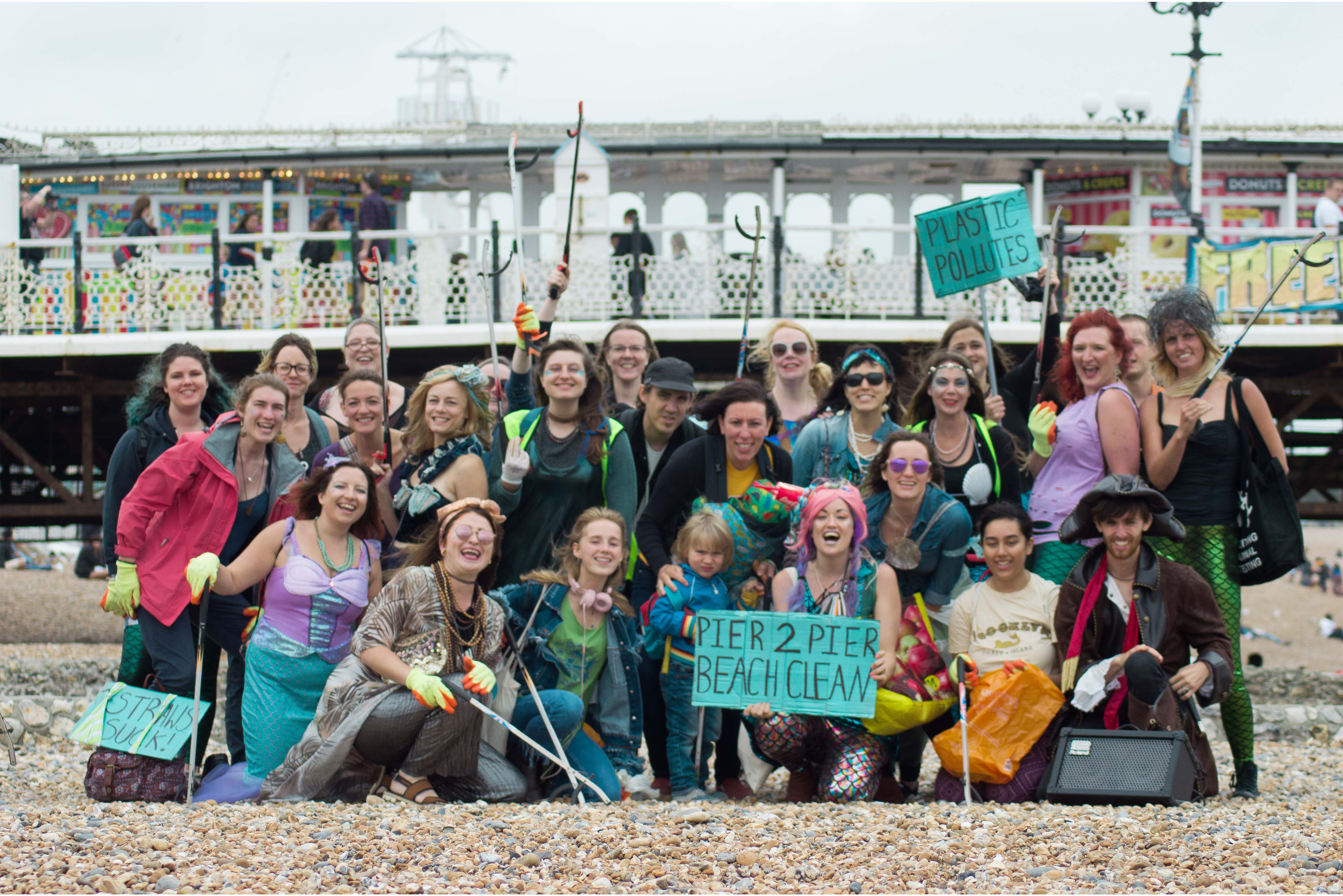 Pier2Pier Brighton our latest #LitterHeroes in action