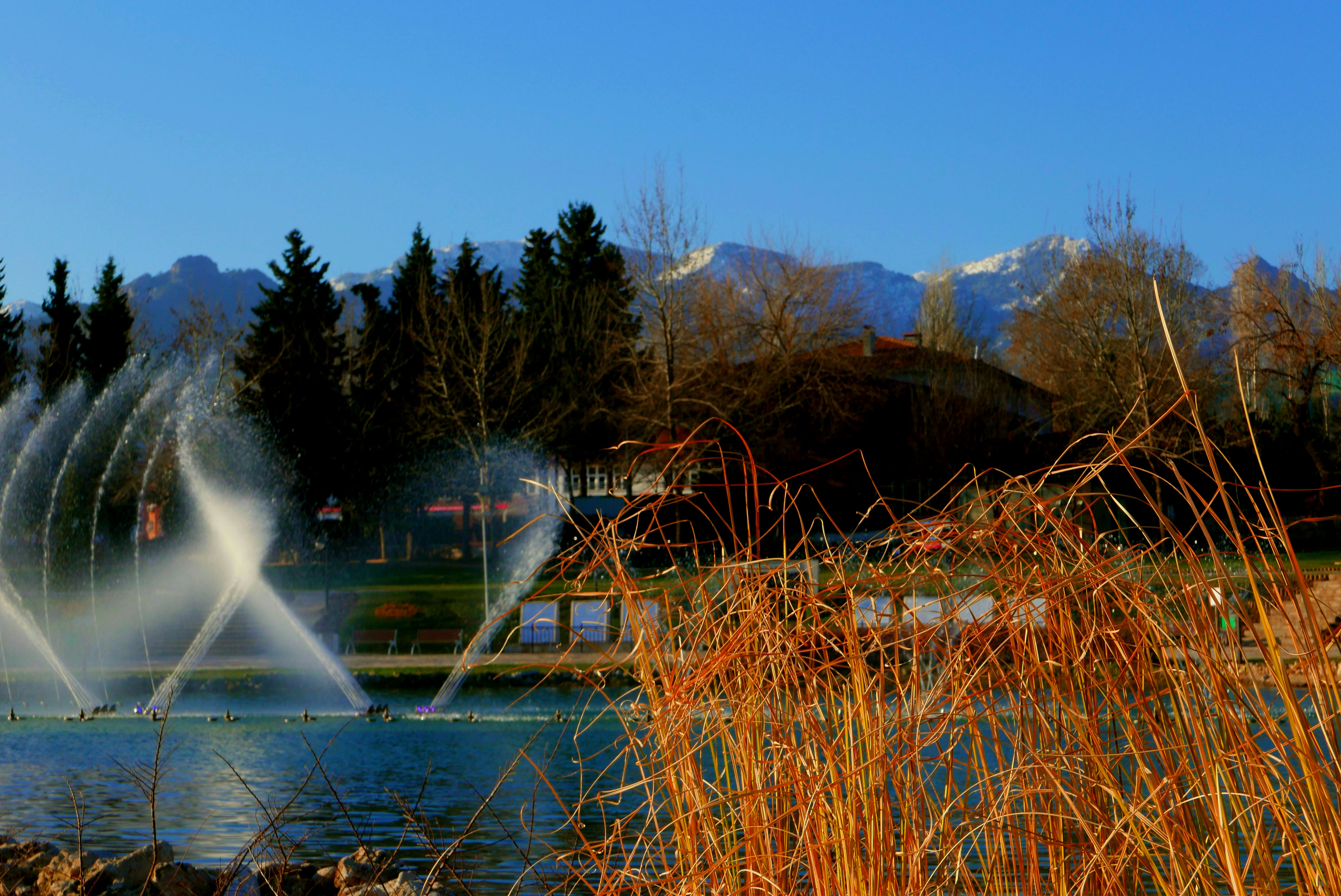 Incilipinar Park in Denizli, Turkey